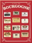 Chic Style French Metal Bourgogne Region Wine Sign 30 x 40 cm